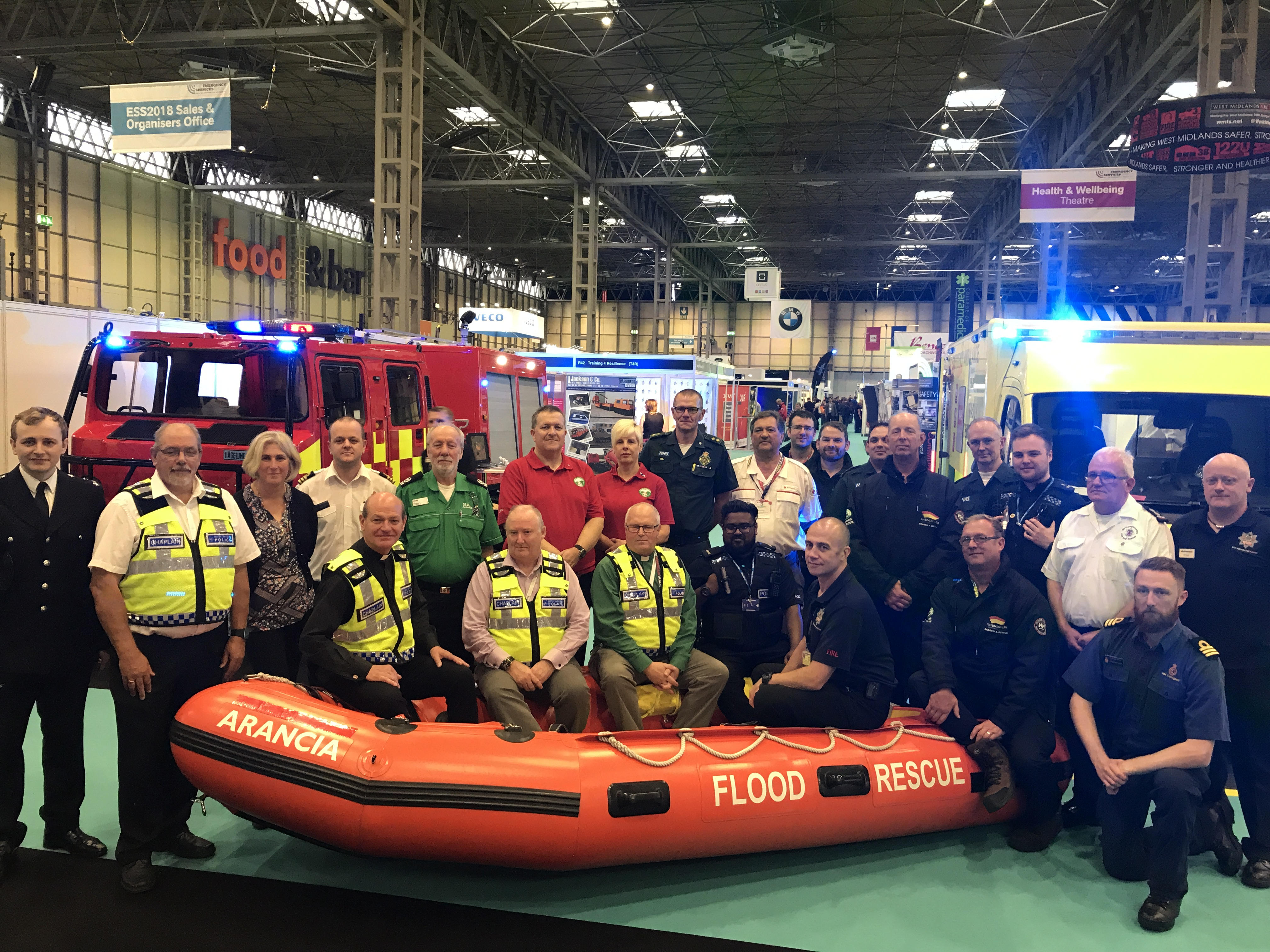 The Emergency Services Show 2017 Surf Life Saving Gb