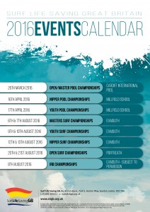 SLSGB 2016 Calendar