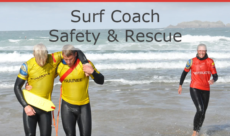 Surf Coach Safety Rescue